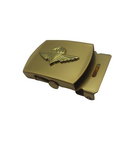 铜质镀砂丁金两片式组合皮带扣