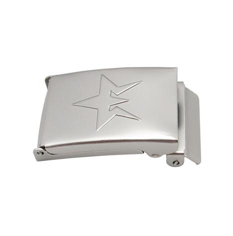 铜质镀镍中式皮带扣