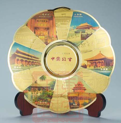 北京旅游景点纪念盘定做