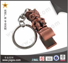 锌合金开瓶器钥匙扣制作