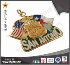 铜质仿珐琅徽章订做