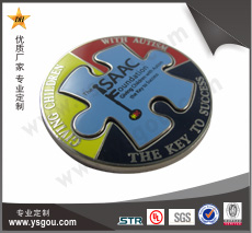拼图纪念币制作