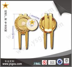 铜质高尔夫果岭叉JJ-01