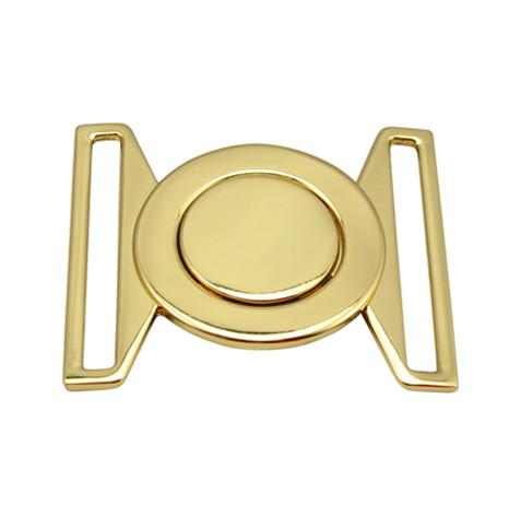 铜质镀真金不上色皮带扣