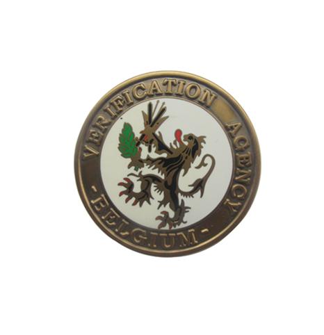 铜质仿珐琅高品质纪念章