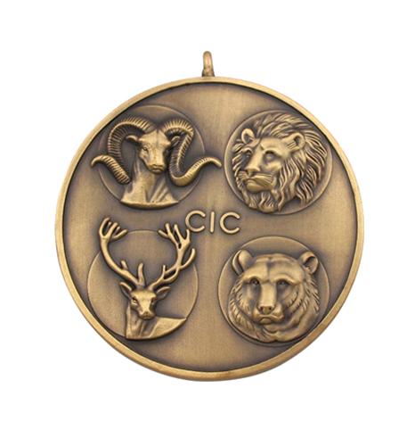 铜纪念章,镀古金纪念章制作厂家