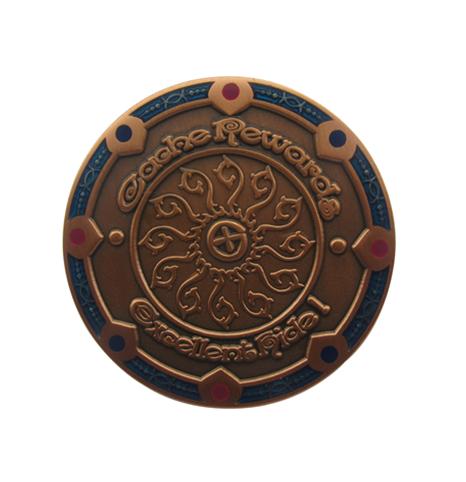 铜质古红铜纪念章制作