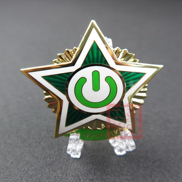 软珐琅徽章定制,五角星徽章制作厂家