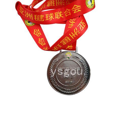 毽球竞赛奖章定制,金属奖牌定做