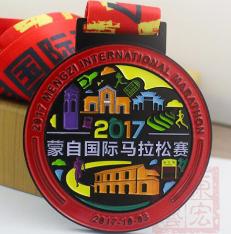 马拉松完赛奖牌,马拉松完赛奖牌制作