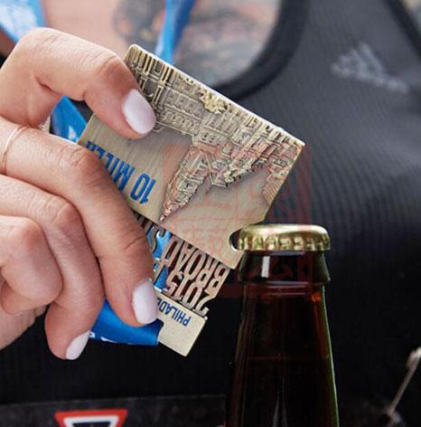 个性开瓶器奖牌订制,创意开瓶器奖牌订制