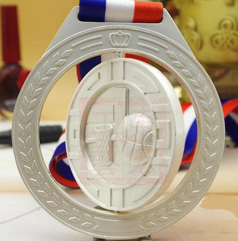篮球赛奖牌制作,篮球赛旋转奖牌制作商