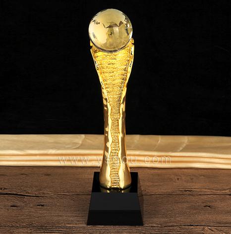 创意金属奖杯定制,运动会比赛奖杯定做