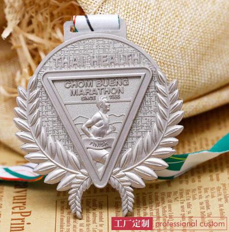 马拉松比赛银牌,银奖牌生产厂家