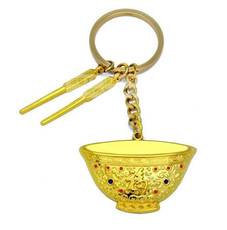 电镀金钥匙扣圈锁匙扣生产厂家