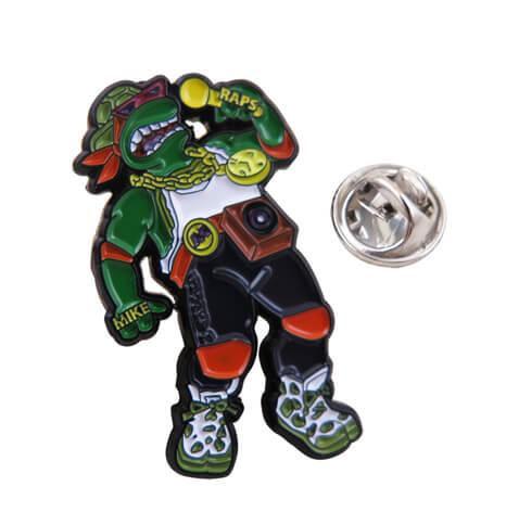 忍者神龟徽章,电影形象胸徽定制厂家