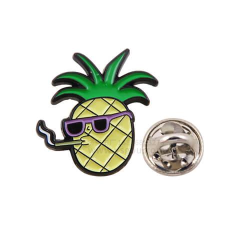 菠萝水果胸针胸徽胸章制作工厂