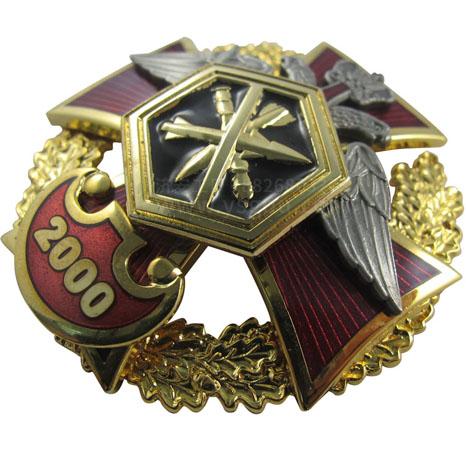 景泰蓝徽章,外贸出口珐琅徽章制作工厂