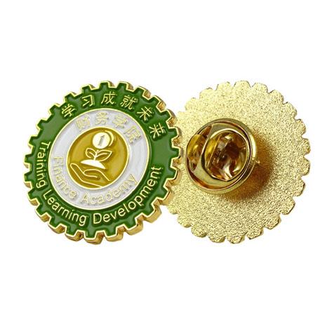 校徽,财务学院校徽,学院徽章定做工厂