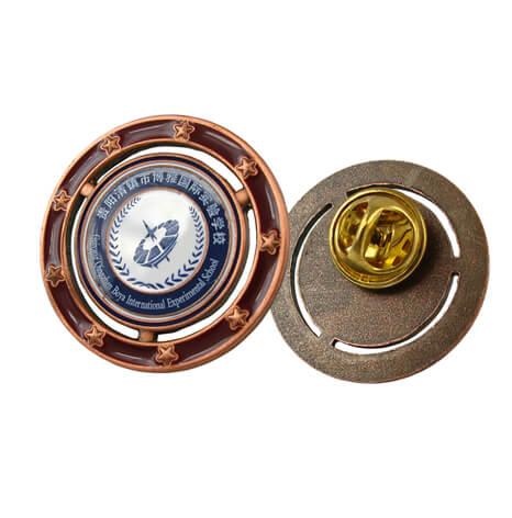 校徽,国际实验学校校徽定制,校徽奖牌套装定制