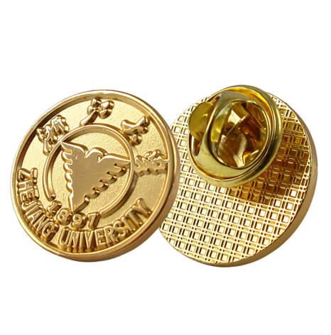 大学校徽,浙江大学校徽定做,金属校徽制作