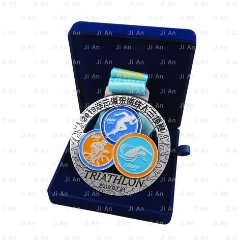 比赛奖牌,铁人三项奖牌定制定做