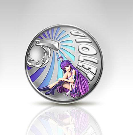 银纪念币,游戏纪念币,游戏公司产品宣传银纪念币定制